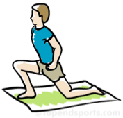 hip flexor stretch, low back pain